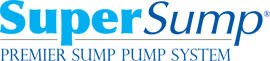 Logo for our SuperSump® Pump System, available in Manhattan and other parts of New York