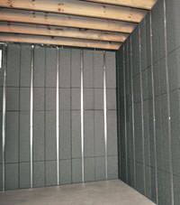 Thermal insulation panels for basement finishing in Bronx, New York